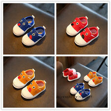 New Baby Toddler Boys Girls Sneakers Walking Shoes Sports Casual Shoes Size 3-5