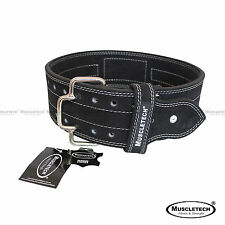 New Genuine Leather Weight Lifting Belt Power Lifting Belt Quick Release Buckle
