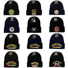 U.S. Military Cuffed Beanie hat Official Licensed cap-Army,Navy,Air Force,Marine