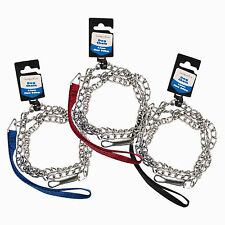 """DOG CHAIN LEAD 48""""/4 FT HEAVY DUTY LEAD FOR MEDIUM & LARGE 3 COLOURS"""