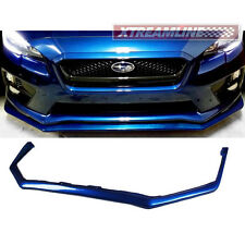 # US Stock PU V Limited Front Lip Spoiler For Subaru Impreza WRX STI 2015up