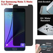 Privacy Anti-Spy 9H Tempered Glass Screen Protector For Samsung Note 7,S7,S6Edge