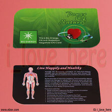 New Anti Radiation Nagative Ions Card Bio-Energy Quantum Science Scalar Energy