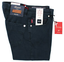 MEN'S TROUSERS TAILORING TRAMAROSSA SLIM NAVY BLUE STRETCH STRETCH G117 M01
