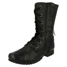 Ladies Legendary Raw By Caterpillar Lace Up Boots 'Jane'