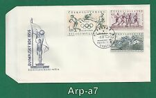 (FC934) Czechoslovakia FDC - First Day Cover 1956 Sport (II)
