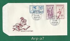 (FC962) Czechoslovakia FDC - First Day Cover 1958 Historical events