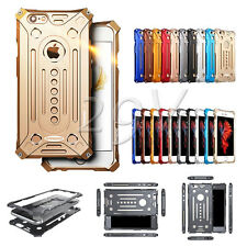Luxury Shockproof Aluminum Metal Bumper Frame Case Cover For iPhone & Samsung