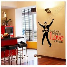 STICKER +GIFT Elvis Presley I Cant Help Falling In Love With You Alonline
