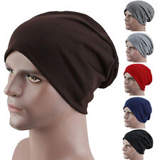 Cool Women's Men's Winter Slouch Crochet Knit Hip-Hop Beanie Ski Hat Cap