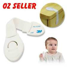 10x Adhesive Child Kids Baby Cute Safety Lock For Door Drawers Cabinet Cupboard