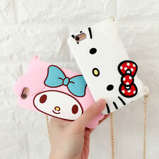 Fashion Hello Kitty My Melody Handbag Silicone Case Cover for iPhone 6 6S 6Plus