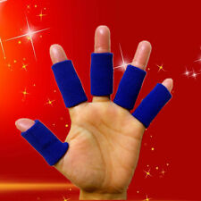 10pcs Finger Sleeves Protect Wraps Brace Sports Basketball Finger Guard Support