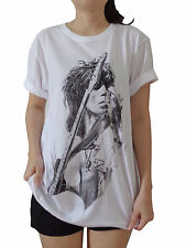 Keith Richards Rolling Stones Rock Band Women Printed T-Shirt Music Tees S M L