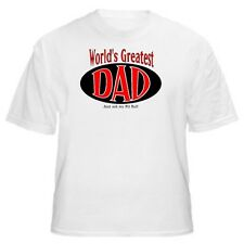 World's Greatest Dad - Pit Bull T-Shirt - Sizes Small through 5XL