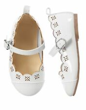 NWT Gymboree EGG HUNT Size 4 5 6 7 8 9 10 White Flat Dress Shoes Girls Holiday