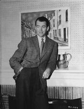 James Stewart Leaning Pose Classic Portrait High Quality Photo