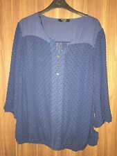 Ladies Moda at George Navy Blouse - Size 20