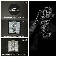 Joy Division Sew On Patch Iron Embroidered Rock Band Heavy Metal Music Logo New
