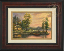 Thomas Kinkade Morning Light Lake 12 x 18 Limited Edition S/N Canvas Framed