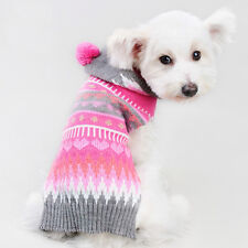 Pet Dog Warm Clothes Puppy Cat Shirt Winter Sweater Costume Jacket Apparel 1X