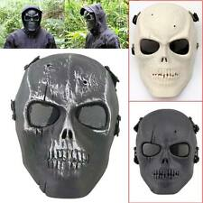 Full Face Skull Skeleton Mask Hunting Party Scary Halloween Costume Outdoor