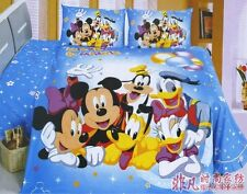 Mickey Mouse and Friends Single/Queen Bed Quilt Cover Set (Light Quilt to Match)