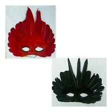 Colorful Feather Eye Masks Mardi Gras Costume Party Venetian Masquerade Cosplay