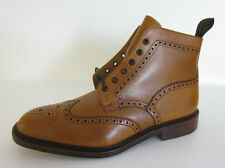 Loake 1880 Burford ' Mens Leather Tan Lace Up Boots UK Size 11 F Fitting (GO)