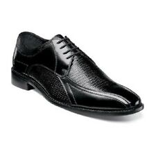 Stacy Adams mens shoes Graziano Leather Sole Bike Toe Oxford Black 25049-001