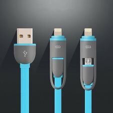 4pcs Micro USB Sync Data Charger Adapter Cable For iPhone 7 Samsung