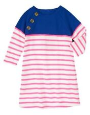 NWT GYMBOREE  STRIPES AND ANCHOR PINK STRIPE SAILOR NAUTICAL Dress 5 6 7 8