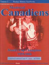 1959-60 Stanley Cup Champions Montreal Canadiens Hockey History Yearbook - MINT