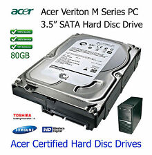 """80GB Acer Veriton M410 3.5"""" SATA Hard Disc Drive (HDD) Upgrade / Replacement"""