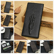 Brand Men Bifold Wallet Leather Credit ID Card Holder Billfold Coin Purse Clutch