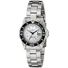 Invicta Women's 2958 Pro Diver Collection Lady Abyss Silver-Tone Watch New