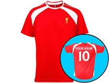 "Official Liverpool Football Supporters Kids Shirt Personalised ""Your Name/Number"