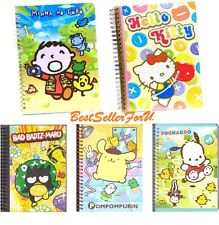A5 120Page Sanrio Spiral Coil Notebook Diary Note Pad Writing Book Journal Lined