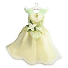 NWT Disney Store Tiana Costume Dress The Frog Princess Gown 4, 9/10
