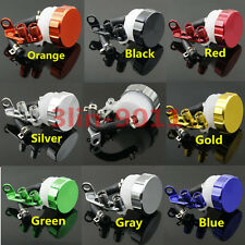 Motorcycle Universal Front Brake Clutch Master Cylinder Fluid Reservoir Oil Cup