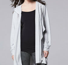 Simply Vera Vera Wang Simply Women's Grey Breathe Flyaway Cardigan - Asst Sizes