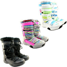 WOMENS NEW ROXY FUR LINED WATER PROOF SNOW WINTER RAIN BOOTS LADIES 3-8