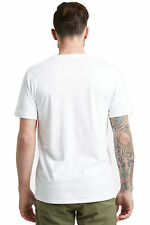 New Barkers Mens T-Shirts Essential Vee BLACK WHITE