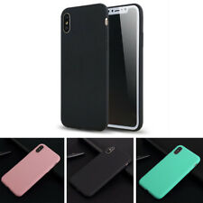 Ultra Thin Soft Silicone Rubber Case Cover Skin for iPhone X 10 6s 6 7 8 8 Plus