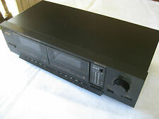 Vintage TEAC Stereo Double Cassette Tape Deck W-350 - Non Working
