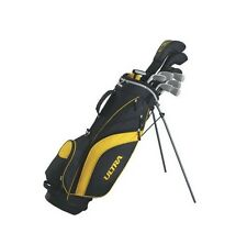Wilson Ultra Men's Complete Golf Set Right Handed New Iron Club 10 Piece Bag New