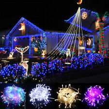 10M 100 LED Light Waterproof String Lights Christmas Wedding Party Xmas New Year