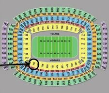 Houston Texans vs Tennessee Titans Four 4 Tickets 10/2/16 Section 131 Row EE