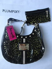 Betsy Johnson SM HOBO Cheetah Girl BV14115 Yellow Brand New with Tag BESTEYVILLE