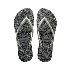 Havaianas Kids Slim Animals - Steel Grey (Synthetic) Womens Sandals